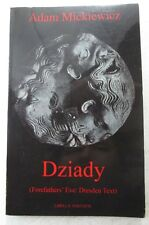 Dziady (Forefathers' Eve: Dresden Text) by Adam Mickiewicz (Paperback, 2000)