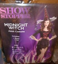 NEW Midnight Witch Palamon Halloween Costume XS Extra Small 2-4 Women Ladies NWt