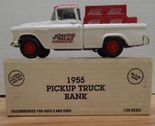 Auto Palace 1955 pickup Truck Bank ERTL 1/25 Diecast 110518DBT7