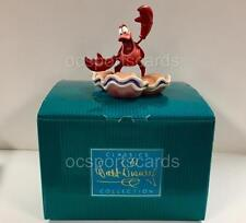Disney WDCC The Little Mermaid CALYPSO CRUSTACEAN Sebastian Figurine + Box & COA