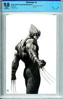 Wolverine #3 Comics Elite Virgin Black & White Exclusive - CBCS 9.8!