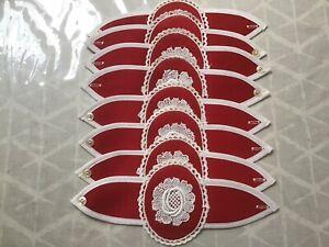 Vintage  Napkin Holders x 8