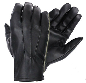 Unlined Driving Gloves with Snaps   Genuine Leather   Perfect Fit   Premium Soft
