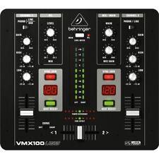 BEHRINGER VMX100USB mixer 2 canali per DJ con bpm counter NUOVO GARANZIA ITALIA