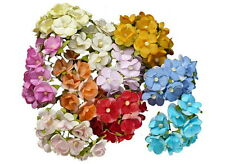 Packung 10 Bunt Pastell Guipure Zum Aufnähen Blumen Blumen Borte Applikation