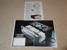 Pioneer SX-1250 Ultimate Receiver Ad, 3 pg, 1976, Article, Specs, Info, Frame It