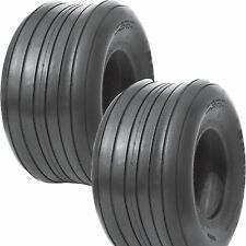 2) 16-650-8 16-6.50-8 16x650-8 16x6.50-8 Ag Farm Tedder Rib Implement TIRE 10ply