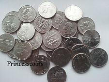 SELECTION OF 1999-2009 A TO M US STATE QUARTERS / 25 CENTS COINS COLLECTION