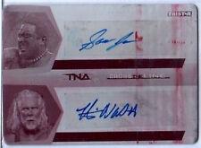 TNA Kevin Nash Samoa Joe 2008 Autograph Printing Plate