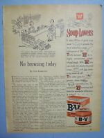 1955 Magazine Advertisement Page For Wilson's B-V Extract Of Meat Vintage Ad