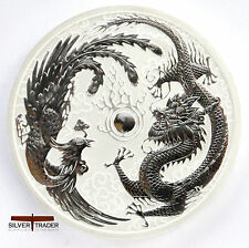 2017 1oz Australian Silver Dragon and Phoenix 1 ounce Silver Bullion Coin unc: