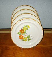 Hearthside Spring Garden Lot of 4 Dinner Plates Baroque EUC! More Availablable!