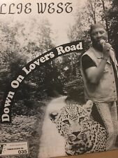 "Willie West & The Hi Society Bros* - Down On Lovers Road (7"", Single)  Label:Tim"