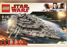 Lego Star Wars 75190 First Order Star Destroyer Neu OVP NEW Sealed