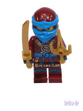 LEGO Ninjago - Figur Nya ( Ninja ) mit Schwert und Dolch / njo212 NEUWARE