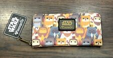 Star Wars Ewok Zip Around Wallet from Loungefly *New with Tag*
