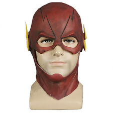 The Flash Allen Cosplay Helmet Halloween Full Face Latex Mask Hoods Toy Gift