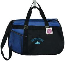 My Dog Walks All Over Me Monogram Blue Gemline Zip Tote Bag New Pet Puppy Gift