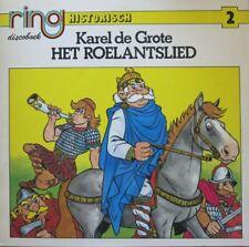 KAREL DE GROTE - HET ROELANTSLIED - LP - (ONLY COVER + INSERT BOOK !!)