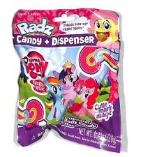 RADZ MY LITTLE PONY CANDY & DISPENSER LOT OF 2 PACKS NEW SEALED