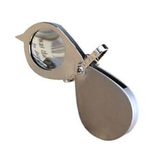 3X Pocket Folding Magnifier Reading Magnifying Glass Loupe With Key Chain AD