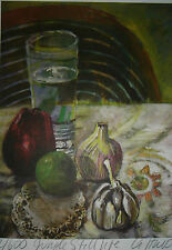 MEXICAN    Still Life  Litho Art print   by  Haardt Latin  Theme Fruit Signed