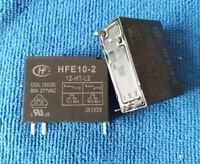 10pcs ORIGINAL 12V HFE10-2-12-HT-L2 50A magnetic latching relay 5pins