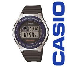 Casio W216H-2A Men's LED Light Chronograph Alarm Digital 50M WR Sports Watch