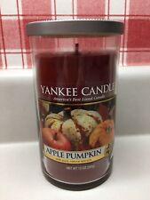 NEW - Yankee Candle APPLE PUMPKIN Medium Pillar 12 oz