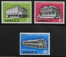 Jamaica Scott #236-38, Singles 1964 Complete Set FVF MH