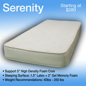 36 x 80 SERENITY----LUXURIOUS TRUCK MATTRESS----FITS ANY MAKE AND MODEL