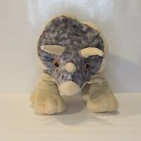 Wild Republic TRICERATOPS Dinosaur Plush Stuffed Animal Toy 12""