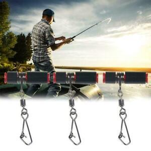 10X Fishing Line Sinker Slide High Strength Sinker BEST Snap Clip Swivel O8H1
