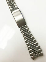 Jubilee Stainless Steel Original 20mm New Silver Deployment Clasp Watch Band