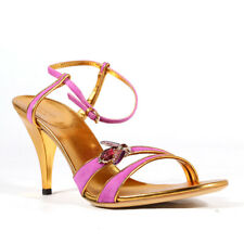 $625 Gucci  Womens Shoes Evening Pink Sandals - Brand new - 100% Authentic