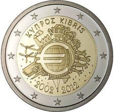 ---  2 EURO COMMEMORATIVE - UNC - CHYPRE 2012   ---