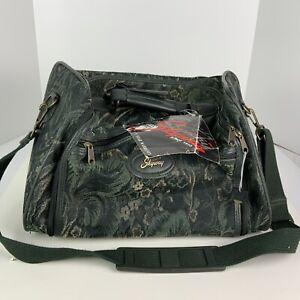 Skyway-Cosy Tote/Carry On- Black Iris Tapestry Travel Bag W/Keys