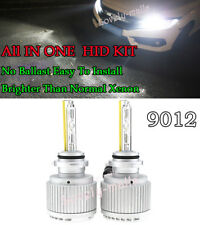 9012LL 9012 HIR2 HIR PX22d ALL IN ONE Xenon HID Replacement Bulbs Light KIT 6K