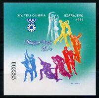 Ungarn MiNr. Block 169 B postfrisch MNH Olympiade 1984 Sarajewo (Oly1193