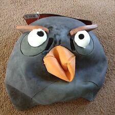 Adult Angry Birds Black Mask new nwt halloween costume