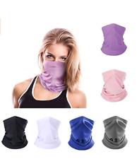 New listing Autumn Neck Gaiter for Women Men Face Scarf Uv Protection Gaiter Breathable