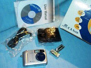 JENAOPTIK   JD   C 3.1   LCD   Digital Kamera