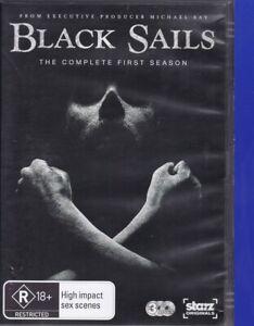 Black Sails : Season 1 (2A, DVD, 2014, 3-Disc Set, Region 4) Series 1