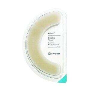 Coloplast Brava Elastic Tape Box of 20 12070 ostomy care pouch, stoma, ileostomy