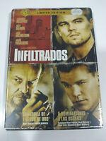 Infiltrate Leonardo Dicaprio Steelbook DVD + Extra Spagnolo English - 3T