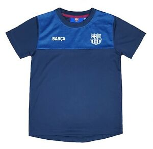 Official FC Barcelona Football Training T Shirt Boys 6 7 Years Kids BT3