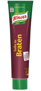 Knorr Sauce zu Braten Bratensauce in der Tube 150 g ergibt 1,1 Liter