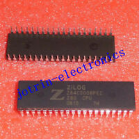 2PCS Z84C0008PEC DIP-40 Microprocessors - MPU 8MHz Z80 CPU XT
