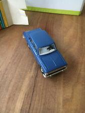 Moskwitch 406,blau,PKW,Fa.Moskvitch,Made in USSR,1:43,Metall,O-karton,Ladenfund