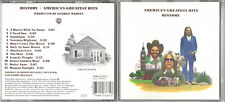 AMERICA / HISTORY (America's Greatest Hits) / 1975 ALBUM ON CD (1986)